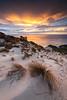 Sand dunes at Big Hellfire. Stewart Island Rakiura