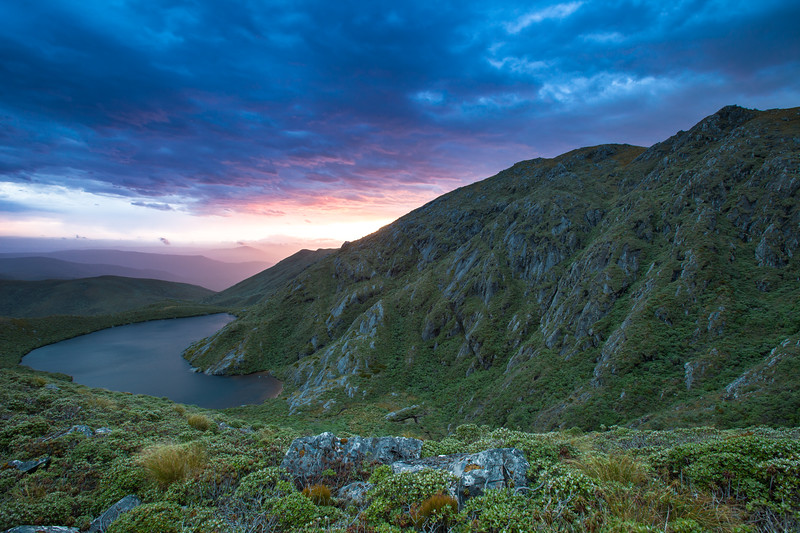 Summit of Mount Anglem, Stewart Island Rakiura