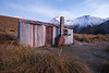 Winter evening, Crooked Spur Hut, Two Thumb Range, Canterbury