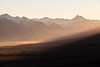 North westerly wind throwing up dust clouds in the Rangitata Valley, Canterbury High Country