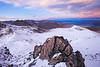 Camp Stream & Lake Tekapo from Beuzenberg Peak, Two Thumb Range, Canterbury High Country