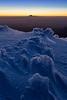 Rime ice, crater rim of Mount Ruapehu, Tongariro National Park