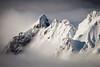 Grand Pinnacle, Te Heu Heu Pinnacles (Pinnacle Ridge), Whakapapa, Mount Ruapehu