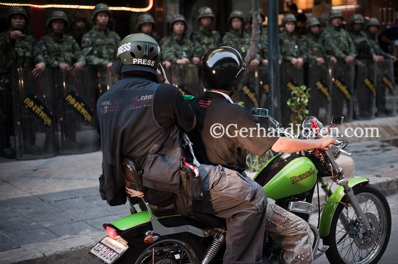 Bangkok 2010, while the Reds held downtown Bangkok hostage.
