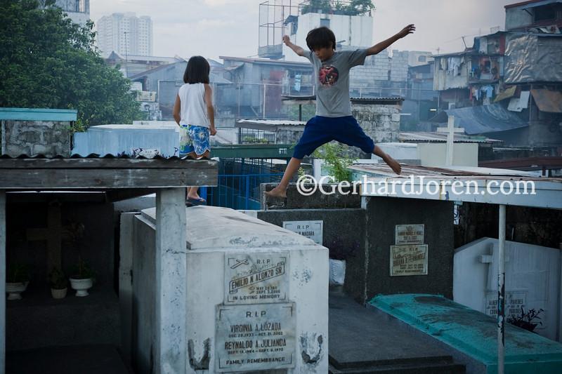 Pasay cemetery, in Metro Manila