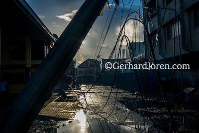 Typhoon Yolanda aftermath in Leyte, Philippines