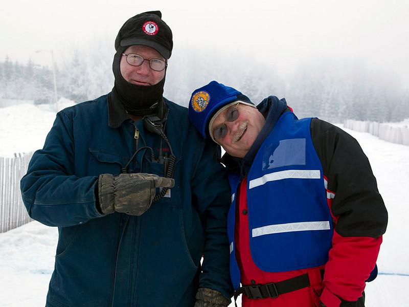 IMG_0737  John Rasmussen & Rick Cavens (Race Marshall Extraordinaire!)