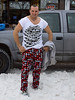 IMG_2071  John Schutheis showing off his very eighties fashion