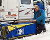 IMG_7306  Egil Ellis prepping his sled for race day #1