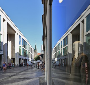 16 Münster-Arkaden Einkaufszentrum, Kleihues + Kleihues, 2005/2006