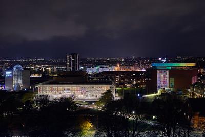 12 Musikhuset Konzerthalle |Concert Hall Thomas Jensens Alle 2 Kjar & Richter ⁄ Sven Hansen, 1982, C. F. Møller Architects, 2003 ⁄ 2007