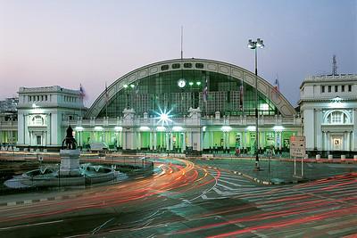 04 Bangkok Railway Station (Hua Lamphong Railway Station)