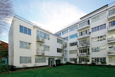 04 Pullman Court Streatham Hill, Lambeth. Frederick Gibberd. 1935