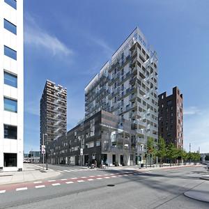 05 Wohngebäude im Barcode Projekt | Residential building in the Barcode project. Lund Hagem