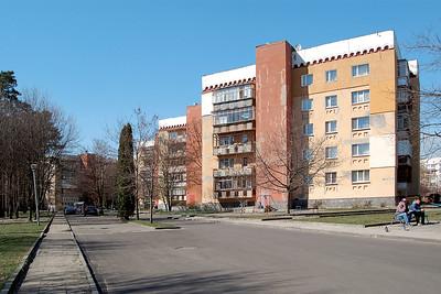 Wohnblocks im Tbilissi-ViertelResidence complex in the Tiblisi-quarter© Ievgeniia Gubkina