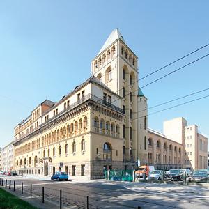 10 Wrocław SPA Centre, Wilhelm Werdelmann (1897), Herbert Eras (extension: 1925–1927)