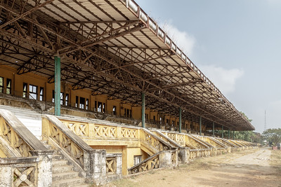 Main stands, Kyaikkasan Race CourseKyaikkasan Race Course (Rangoon Turf Club)© Manuel Oka