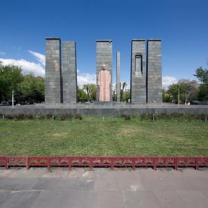 06 Monument to Alexander Myasnikyan, 2017 |  Monument zum Gedenken an Alexander Myasnikyan, 2017