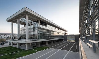 06 Forschungszentrum im Wissenschaftspark der METU,  Architekt: Özer Ürger Mimarlık, 2013.