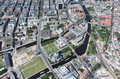 01 Blick auf die Museumsinsel, die seit 1999 zum UNESCO-Welterbe gehört