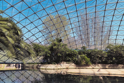 11 Flusspferdhalle von Jörg Gribl (1997) im Zoologischen Garten