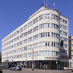 Ehem. Versicherungsgebäude, GdyniaBild: Harald Gatermann
