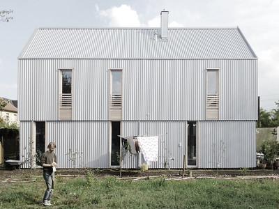"""werk A architekturEinfamilienhaus """"Kleine Welle"""", OlchingFotograf: werk A architektur"""
