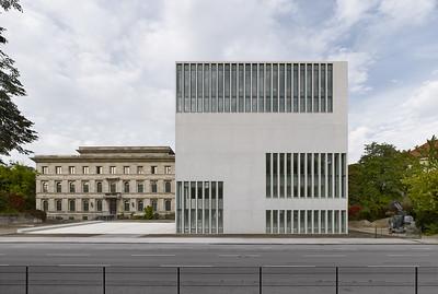 GEORG • SCHEEL • WETZEL ARCHITEKTENNS-Dokumentationszentrum MünchenFotograf: Stefan Müller