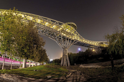 09 Tabiat-Brücke / Tabiat Bridge - Pol-e Tabiat