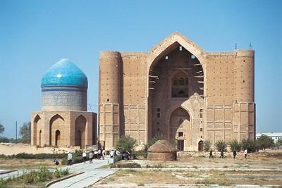 Turkestan: Grabmoschee des Hodscha Achmed Jassawi