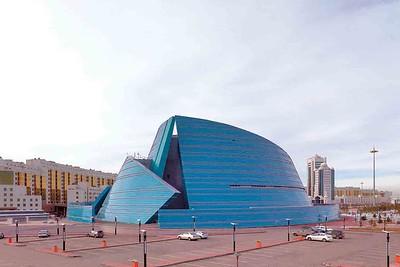 Astana: Zentrales Konzerthaus