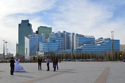 Astana: Am zentralen Nurschol-Boulevard