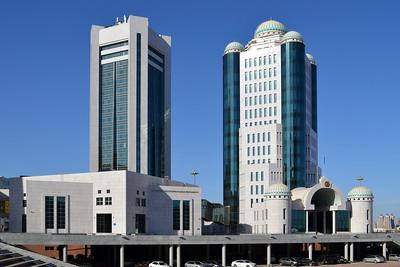 Astana: Ober- und Unterhaus des kasachischen Parlaments