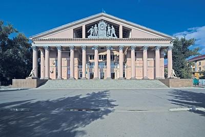 Ust-Kamenogorsk/Öskemen: Kulturpalast der Metallarbeiter
