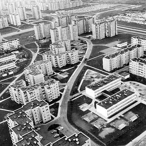Wohnviertel Kalniečiai und Eiguliai, 1968-85Abbildung: © Romualdas Pozerskis