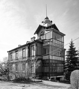 Villa von Pranas Urbonas, 1925Abbildung: © Norbert Tukaj