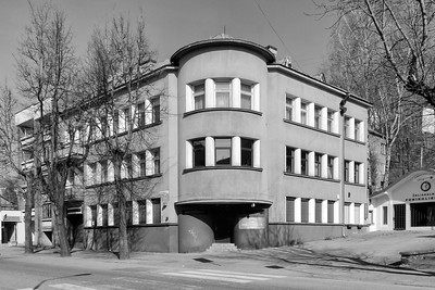 Mietshaus von Pranė Dubinskaitė, 1938Abbildung: © Norbert Tukaj