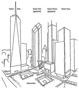 Bestätigter Entwurf für ein neues World Trade Center am Ground Zero