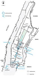 Standpunkte für Panoramaansichten von Manhattan