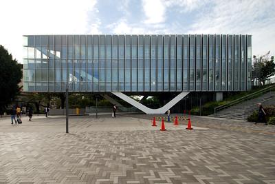 08 Universitätsbibliothek der Technischen Hochschule Tokio | Library of the Tokyo University of Technology. 2-12-1 Ookayama, Meguro-ku. Koichi Yasuda (2011)
