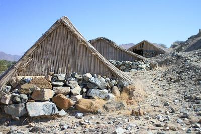 Traditionelle Bauten im Emirat DubaiTraditional houses in the emirate Dubai(c) Jan Dimog