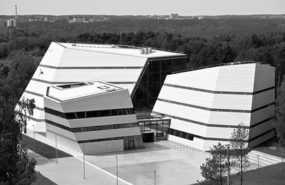 Bibliothek, Informations- und Kommunikationszentrum der Universität VilniusFoto © R. Paleko ARCH studija