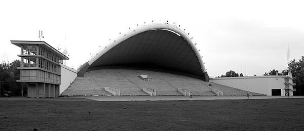 Freiluftbühne im Vingis-ParkFoto © Raimondas Urbakavičius