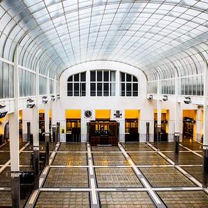 Postsparkasse: Großer Kassensaal