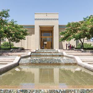 07 Ismaili Centre Dushanbe  pr. Ismoili Somoni 47. Zentraler Innenhof des Ismaili Centre Dushanbe
