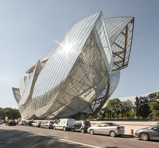 14 Fondation Louis Vuitton. 8 avenue du Mahatma Gandhi, 16. Arr.; Frank Gehry - 2014