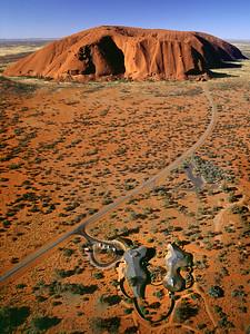 05 Kata Tjuta Cultural Centre. Uluru Rd, Uluru, NT; Gregory Burgess Architects, 1995