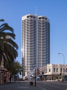 06 QV1. 250 St Georges Terrace, Perth, WA; Harry Seidler & Associates, 1991
