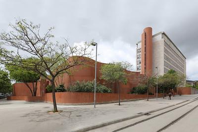 07 Erweiterungsbau der Architekturfakultät (ETSAB). Josep Antoni Coderch, 1984