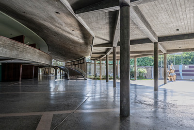 11 COVERED PLAZA, CIUDAD UNIVERSITARIA DE CARACAS,. Carlos Raúl Villanueva, 1952–1953